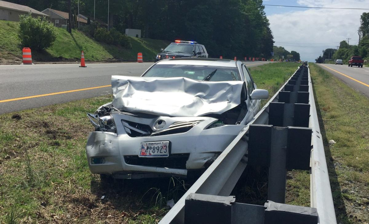 Woman airlifted after three-vehicle crash near Elkton | Local News