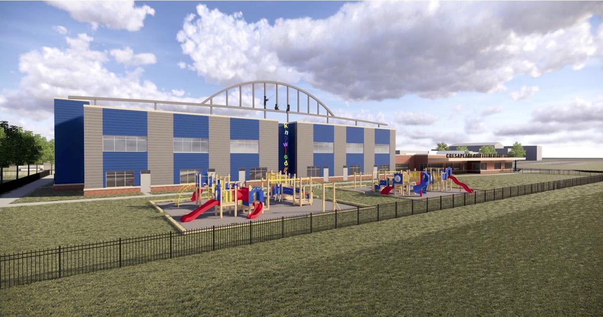 Chesapeake City Elementary School plans