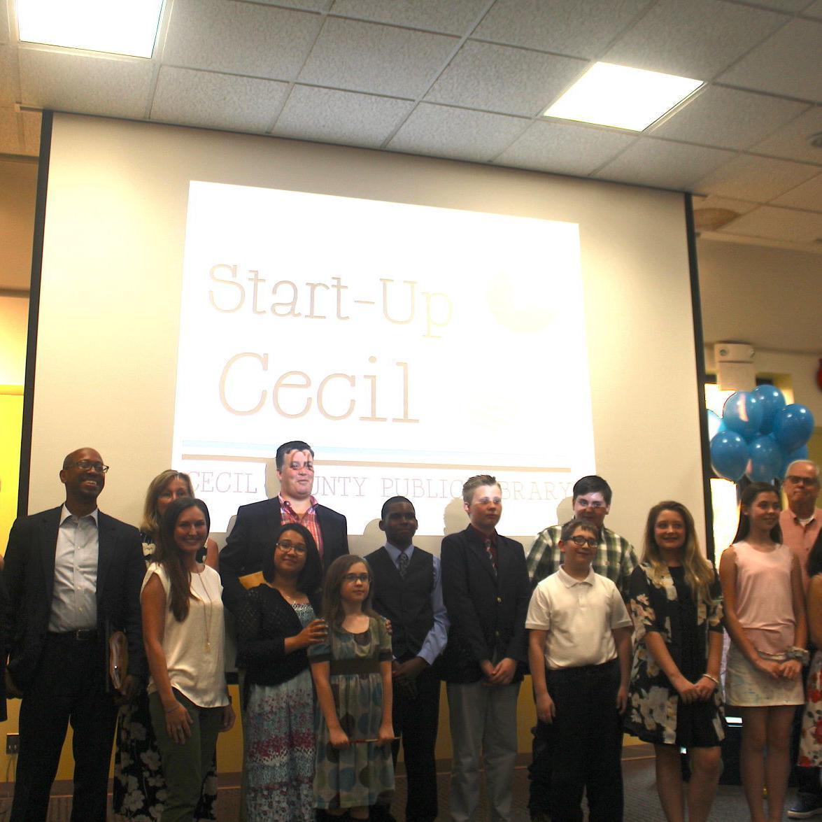 Start-Up Cecil Showcase spotlights teen business ideas