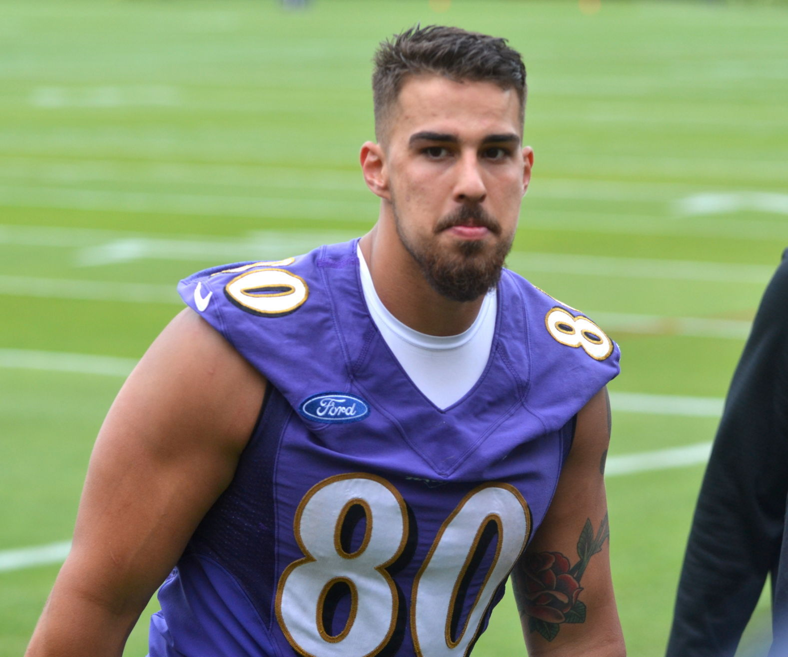 Bulked-up Gillmore ready to fill tight end void for Ravens ...