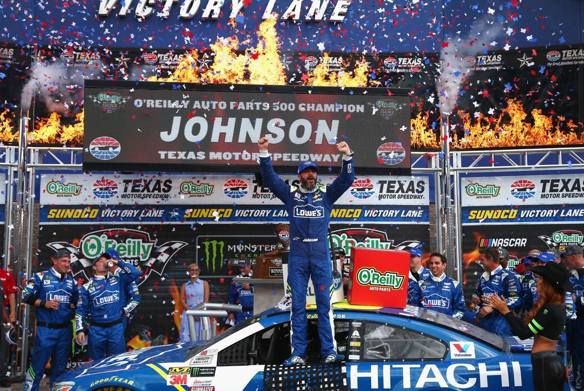 New pavement at Texas can\'t stop Jimmie Johnson juggernaut ...