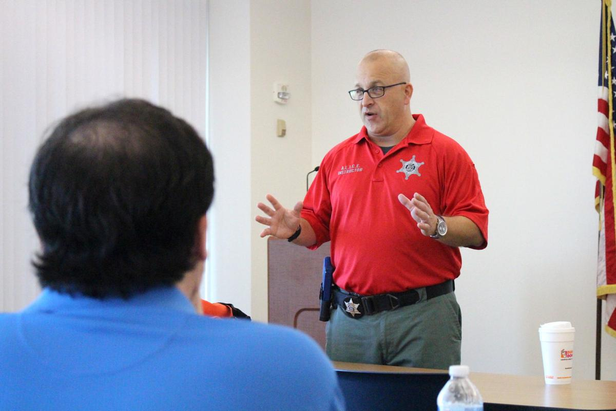Whig active shooter training