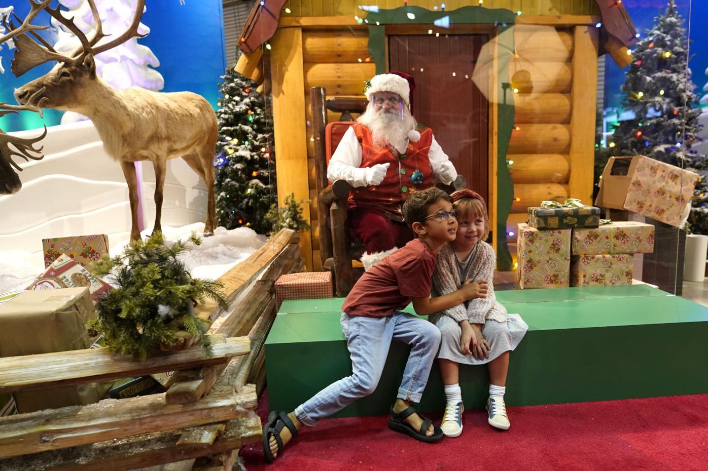 Virus Outbreak Santa Claus