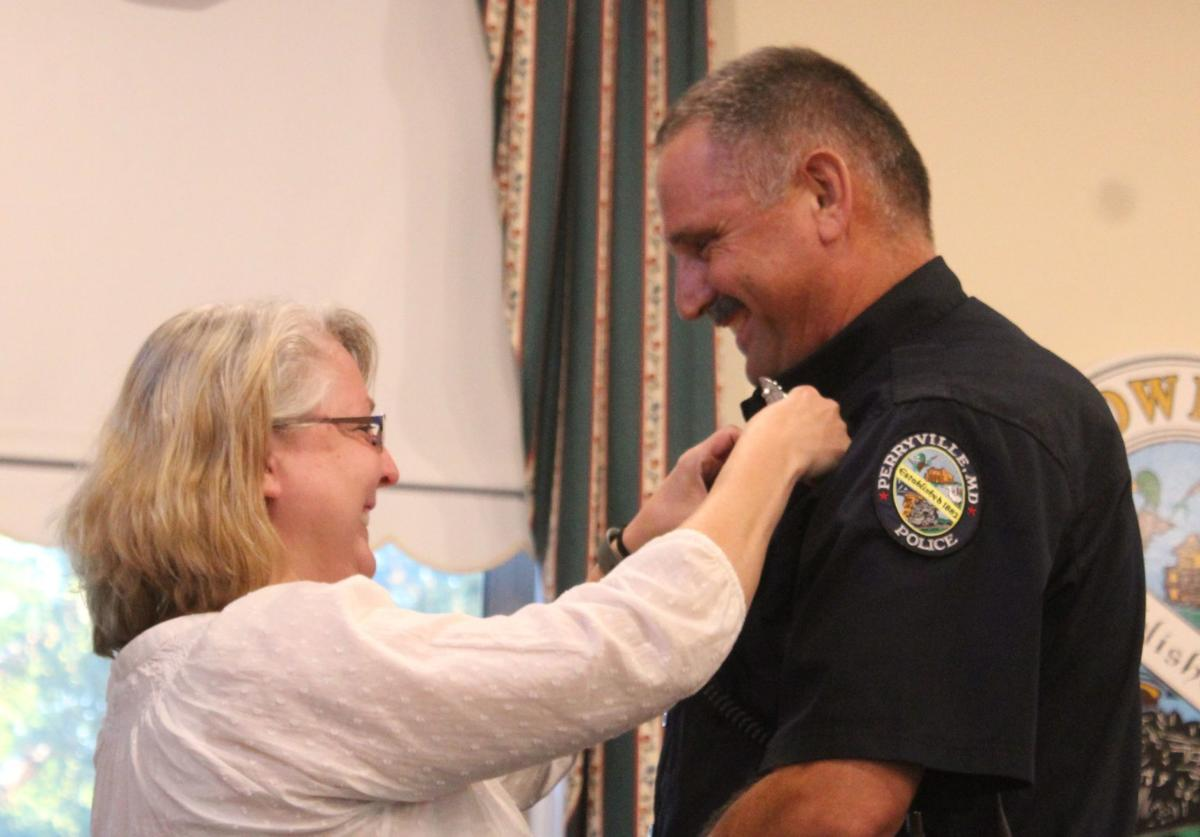 Perryville promotes one, welcomes another officer