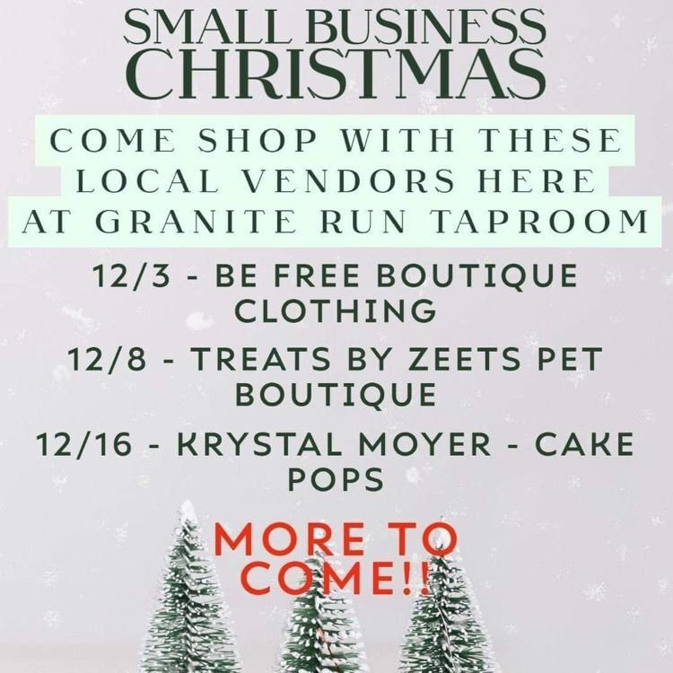Small Business Christmas at Granite Run Taproom in Port Deposit