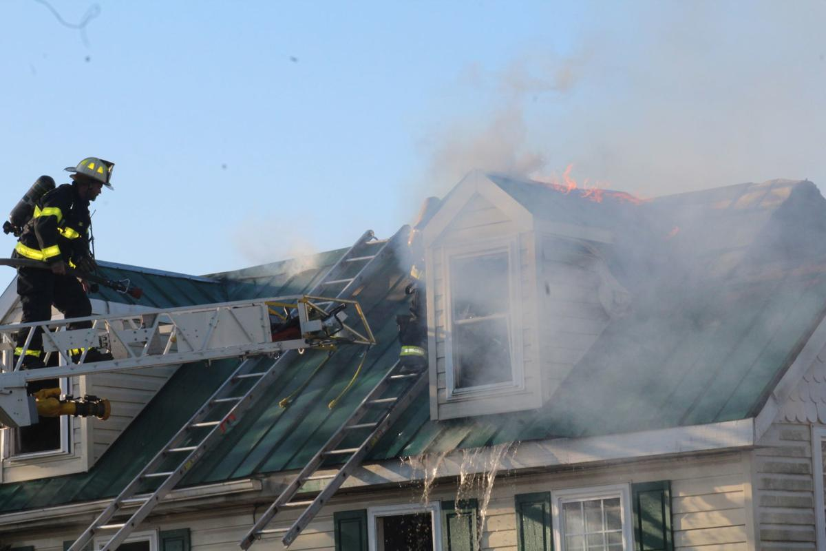 Second story catches fire in Earleville