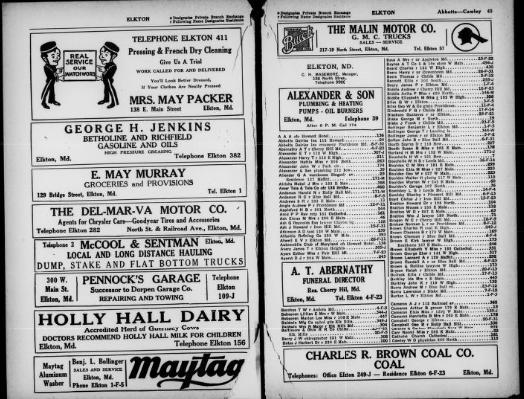 1932 Phone book