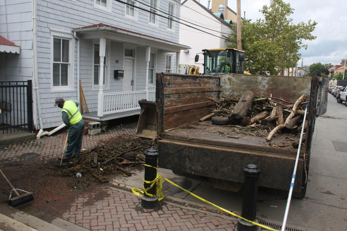 Maryland Storm Debris