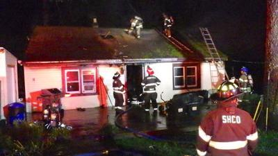 Perryville house fire