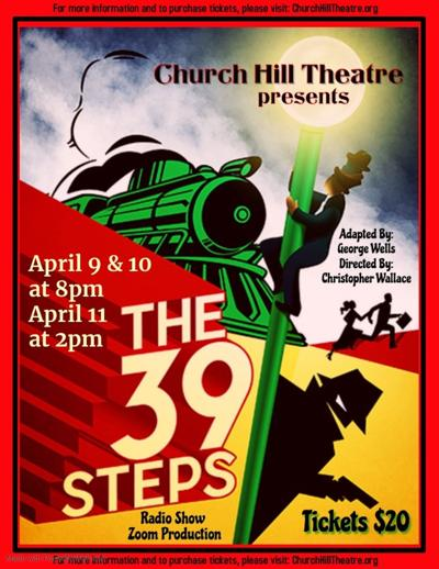 Radio production of 'The 39 Steps' from Church Hill Theatre