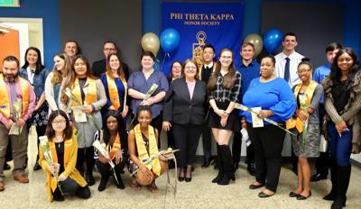Rho Beta Chapter of Phi Theta Kappa at HCC