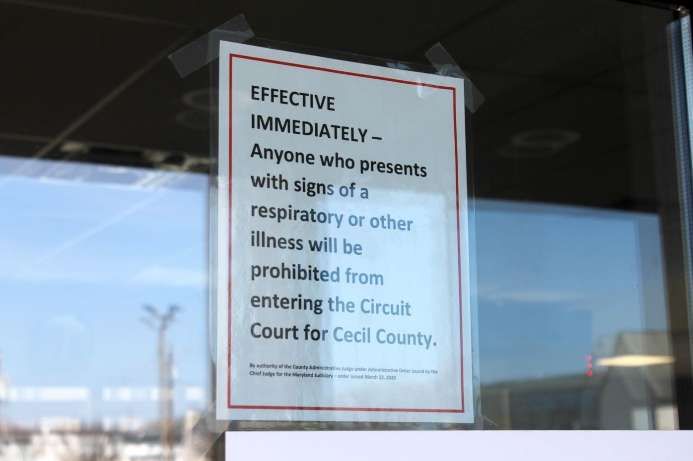 Courthouse restrictions