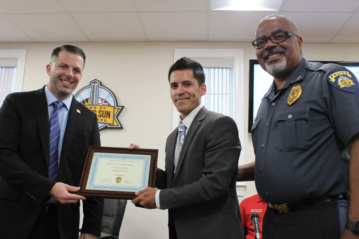 Goins named chaplain to RS police department
