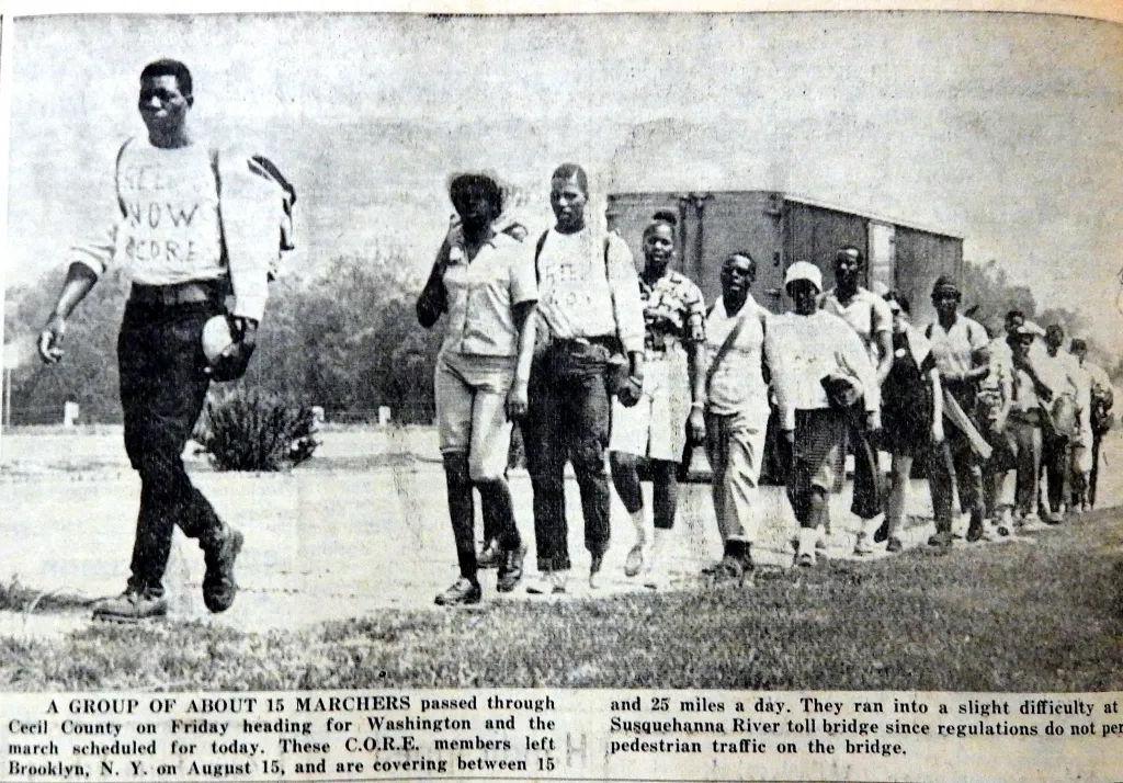 CORE marchers