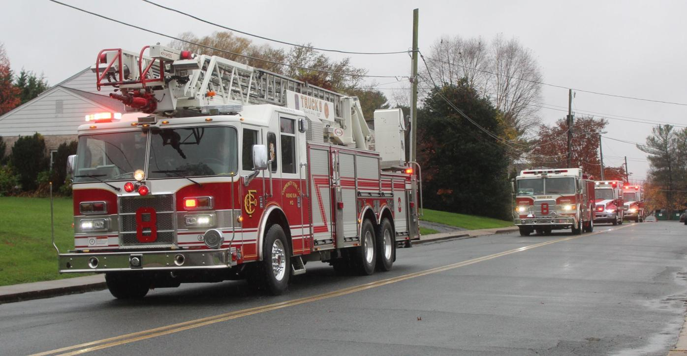 Community Fire Company of Rising Sun salutes Peggy Bailey