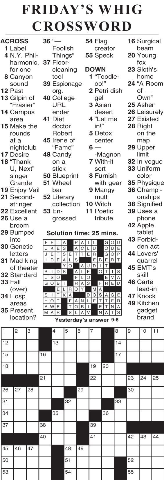 0906 crossword
