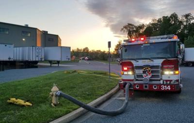 Belcamp warehouse fire