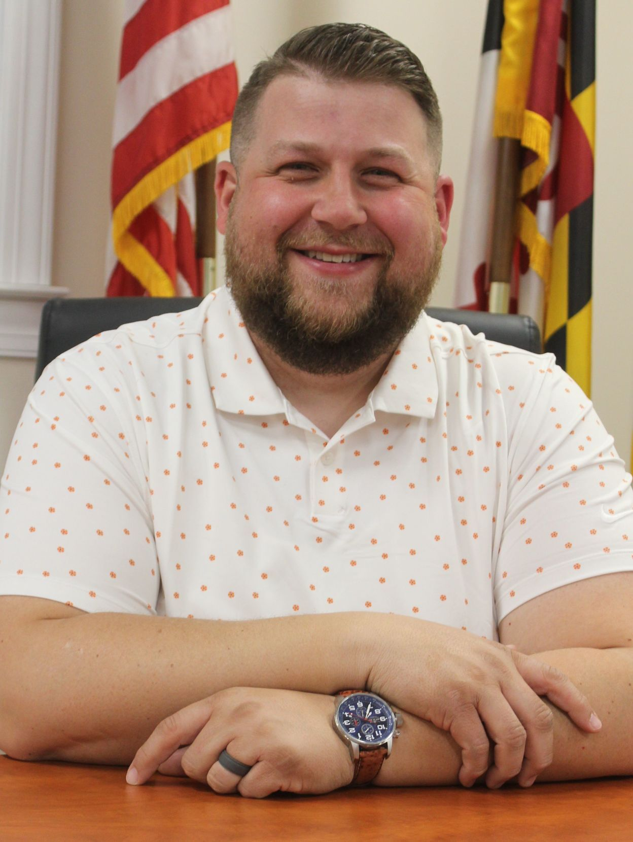 Rising Sun Commissioner Joseph Shephard