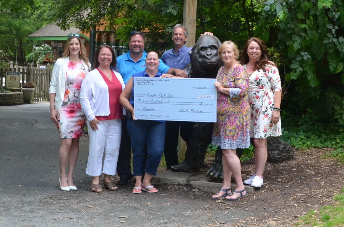 Cecil Board of Realtors zoo donation