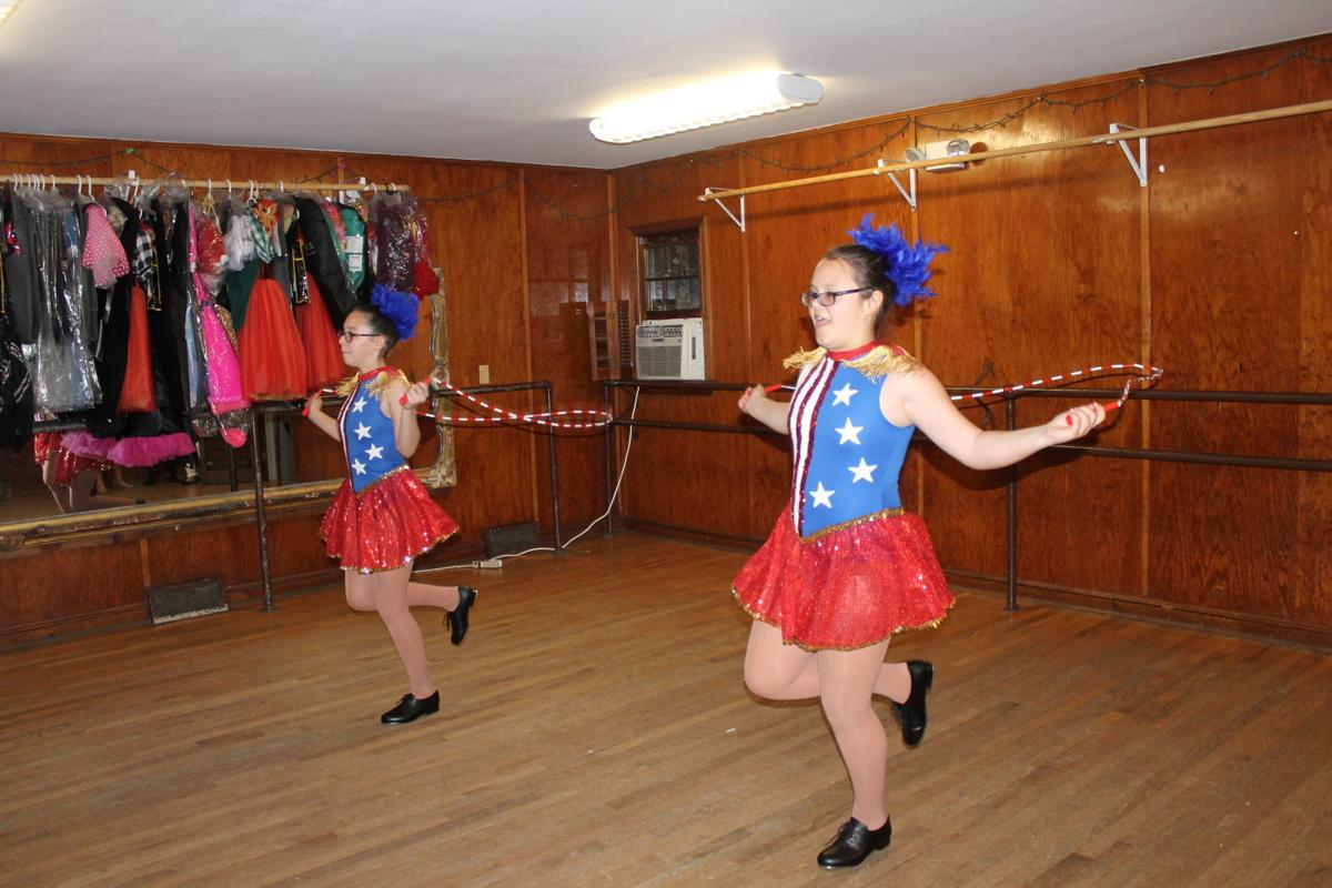 Celebratory dance show