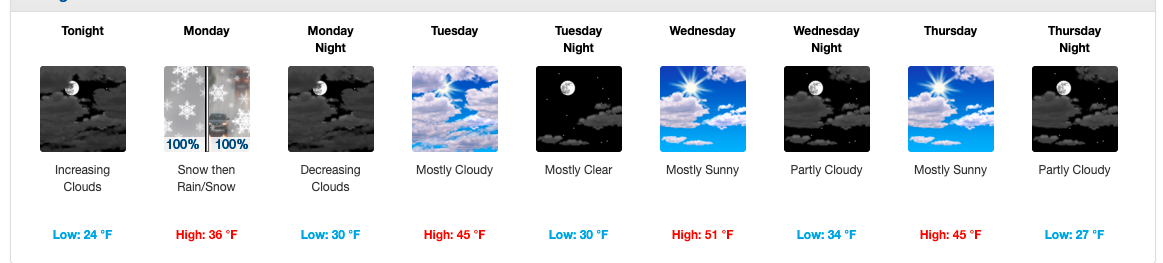 Northern Cecil County forecast could mean up to 3 inches of snow