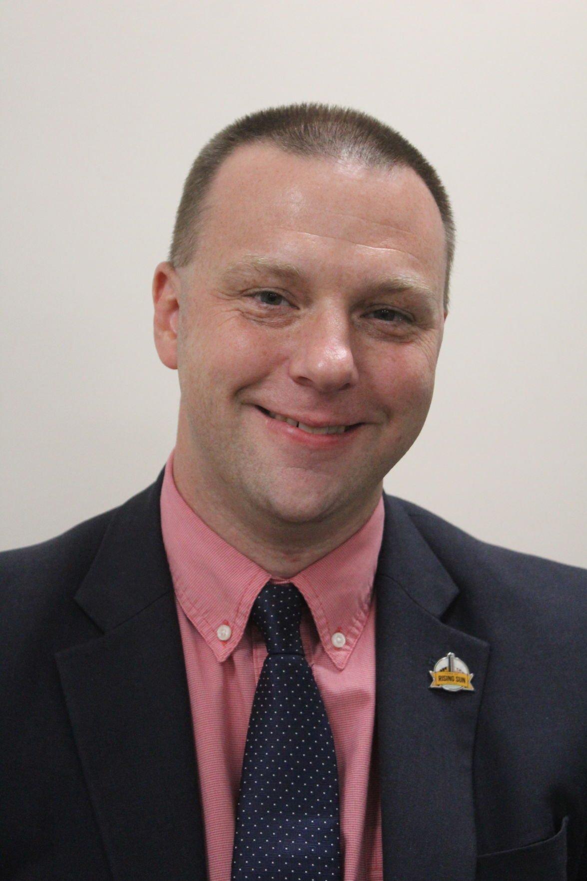 Rising Sun Commissioner David Warnick