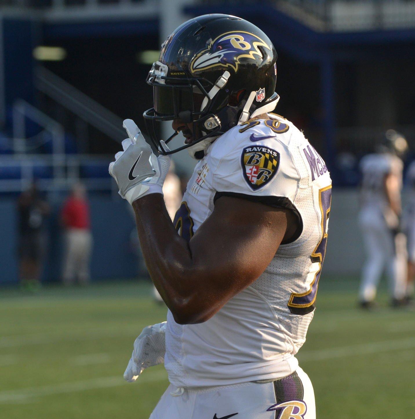 Albert McClellan has torn ACL, joins list of Ravens lost for season