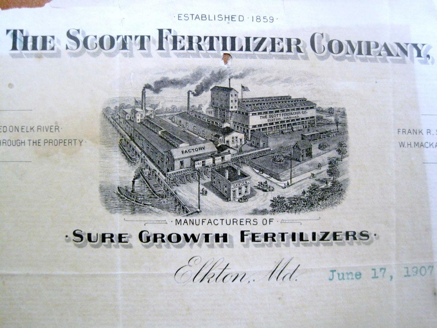 Scott Fertilizer Plant
