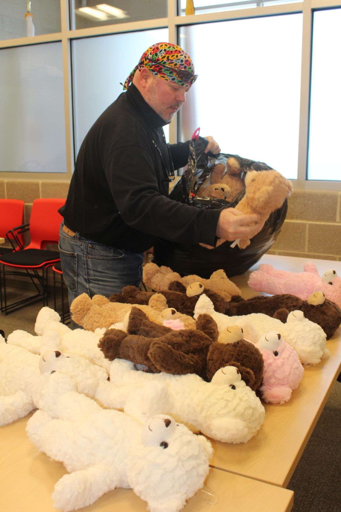 IKEA union donates stuffies to Perryville police