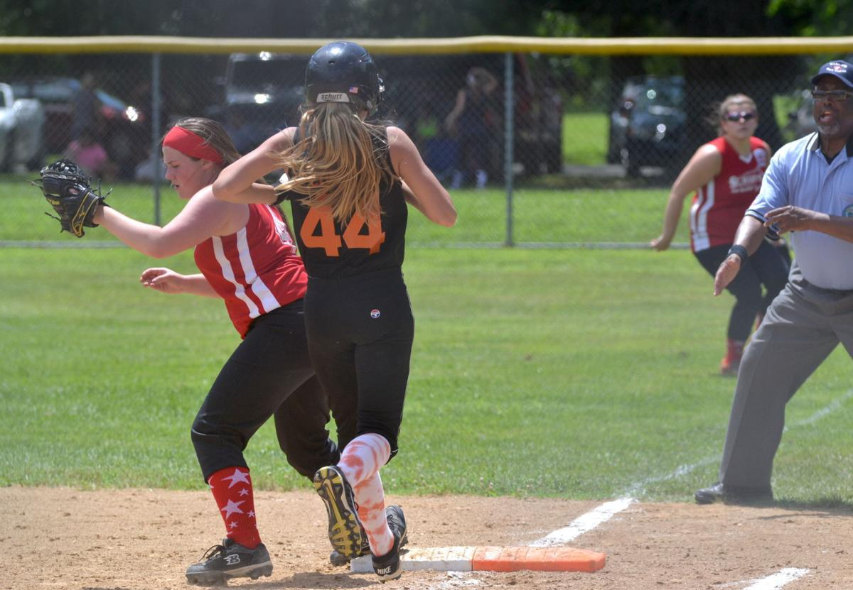 Rising Sun vs. St. Mary's Junior Softball | Sports Gallery ...