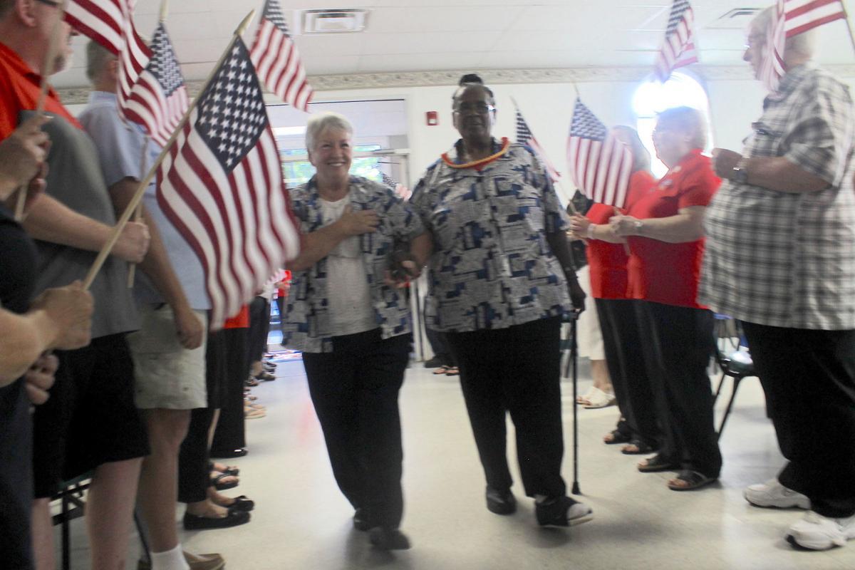 Haake visits Chesapeake City VFW
