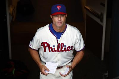 Phillies Kapler Fired Baseball