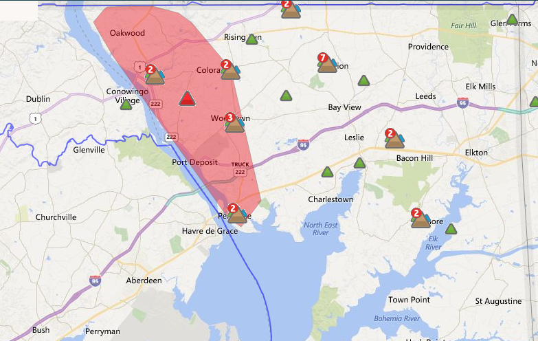 Delmarva outage map | | cecildaily.com on