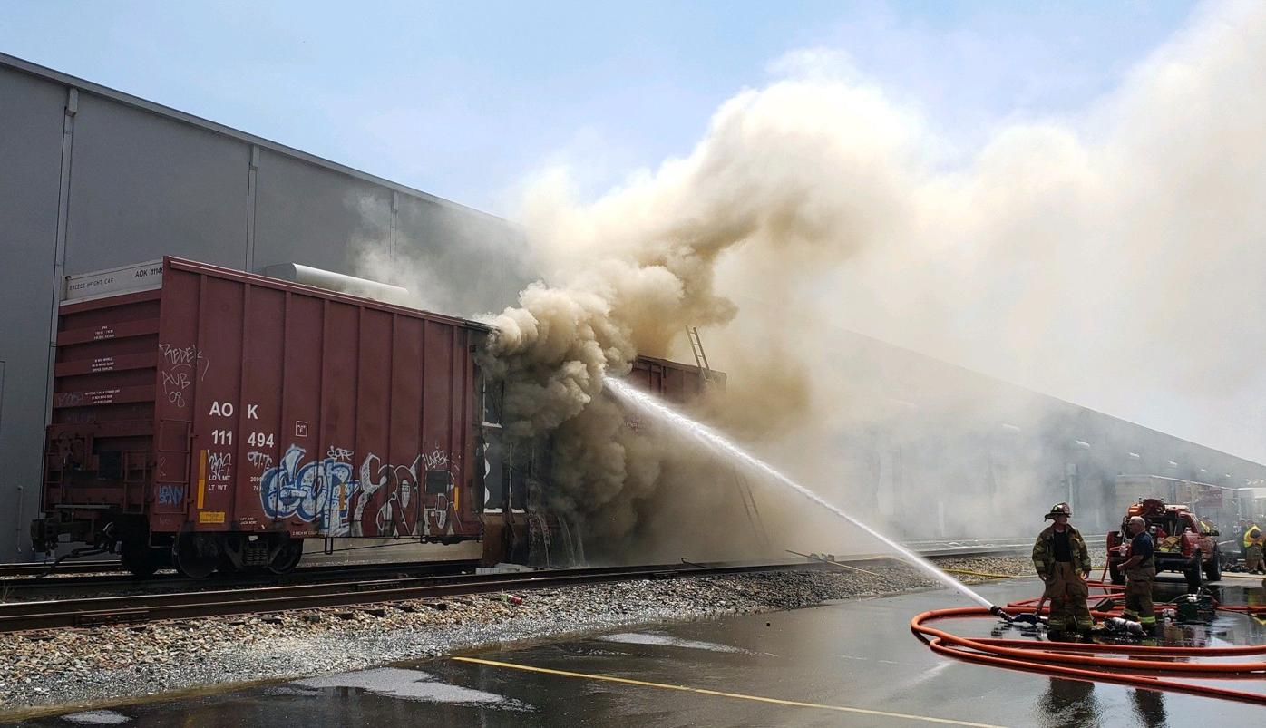 Perryville box car fire