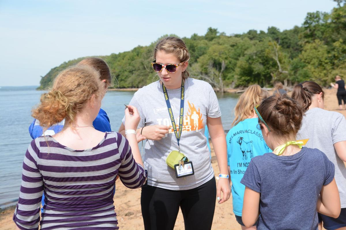 sixth graders have fun while learning at northbay