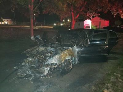Perryville car fire