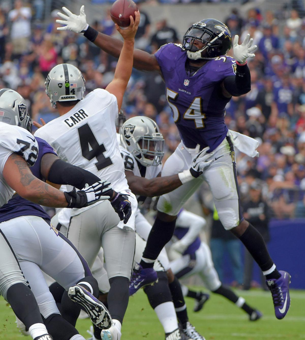 With Derek Carr out Ravens prepare for Raiders backup QB EJ