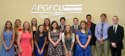 APGFCU awards $15K in scholarships