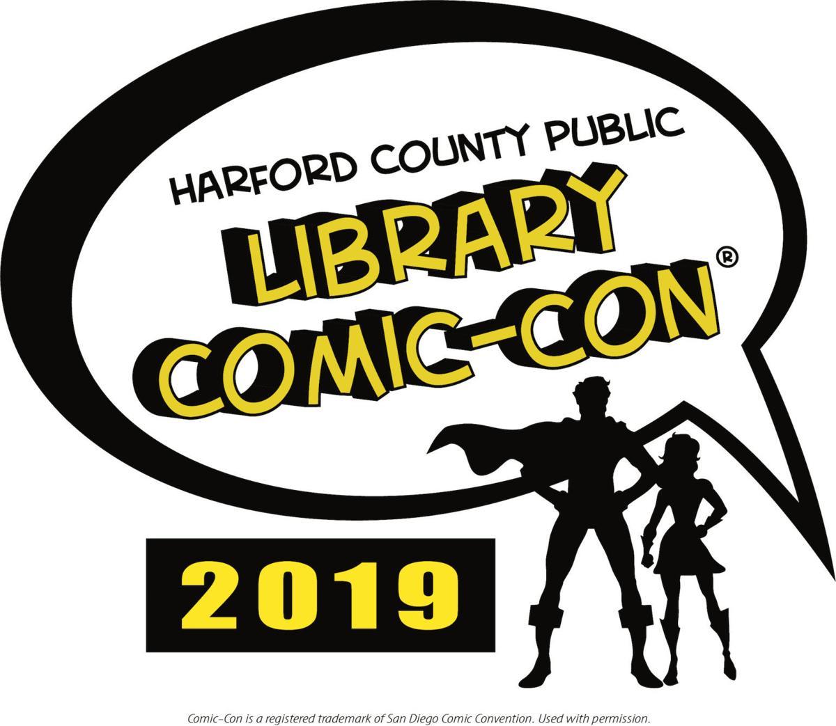 HCPL Comic-Con 2019 logo