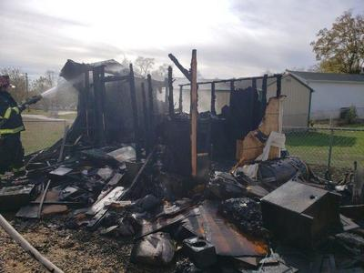 Port Deposit area shed destroyed by fire