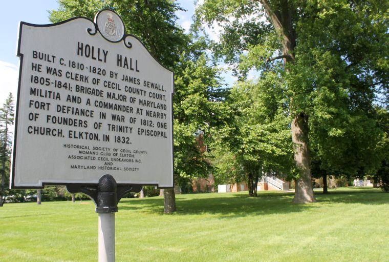 COVER Holly Hall History