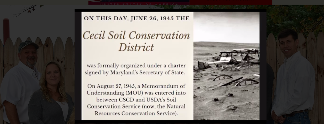 Cecil Soil Conservation District to celebrate June 6, 2021