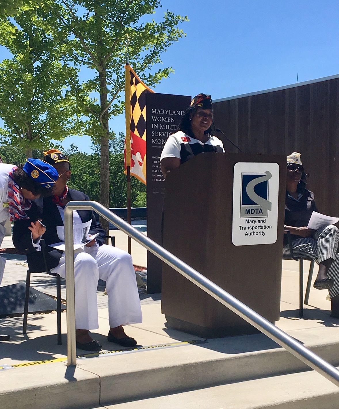 Maryland DAV honors women in military