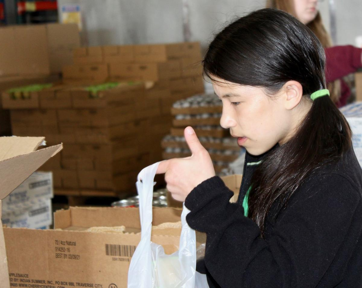 Students fight hunger