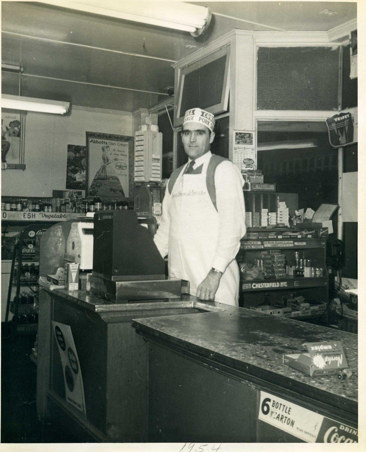 Hist Soc News Ford's Clover Farm Store