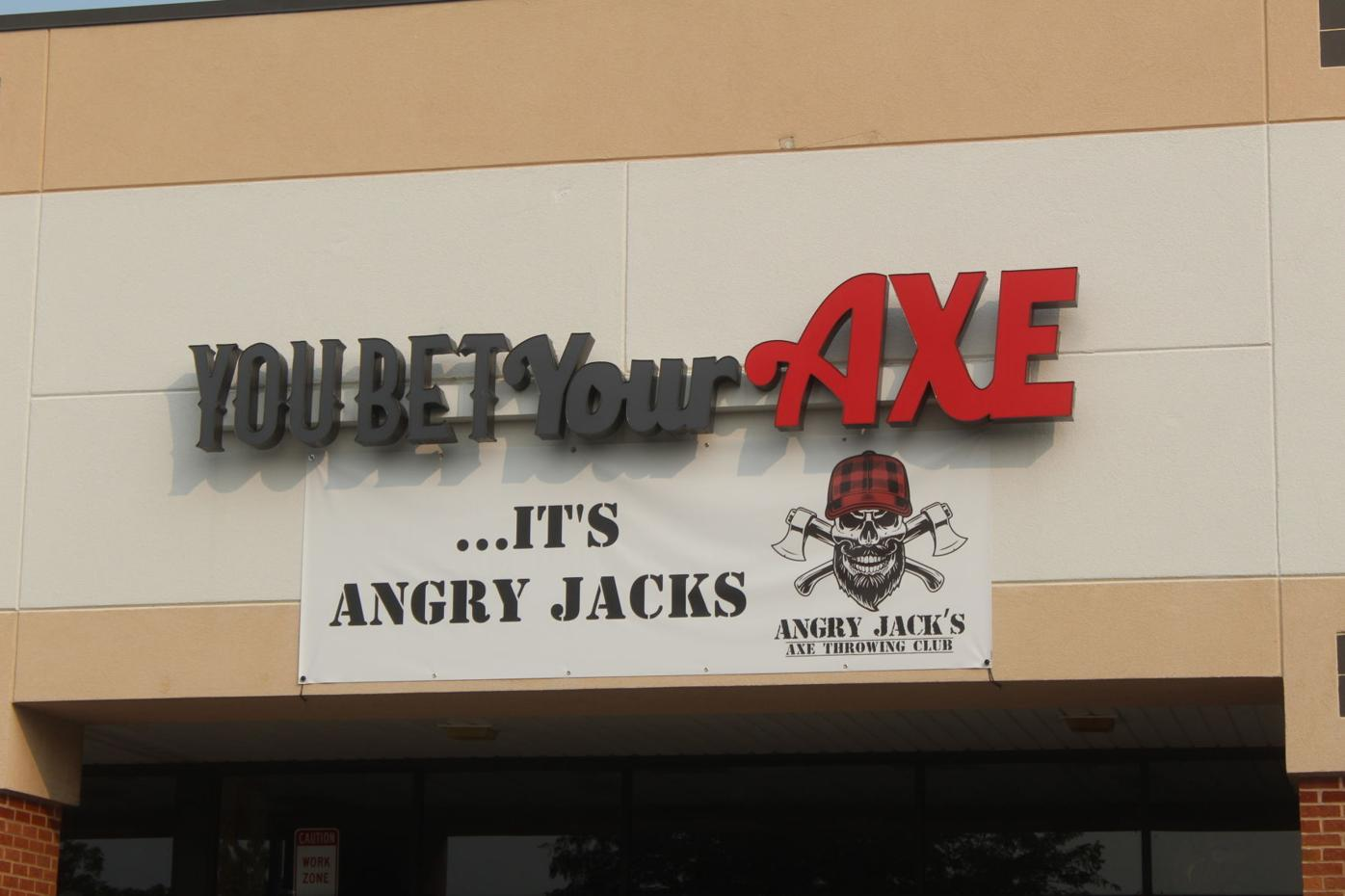 Angry Jack's Axe Throwing Club comes to Elkton