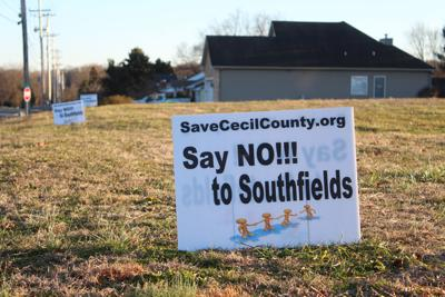 Say No To Southfields sign