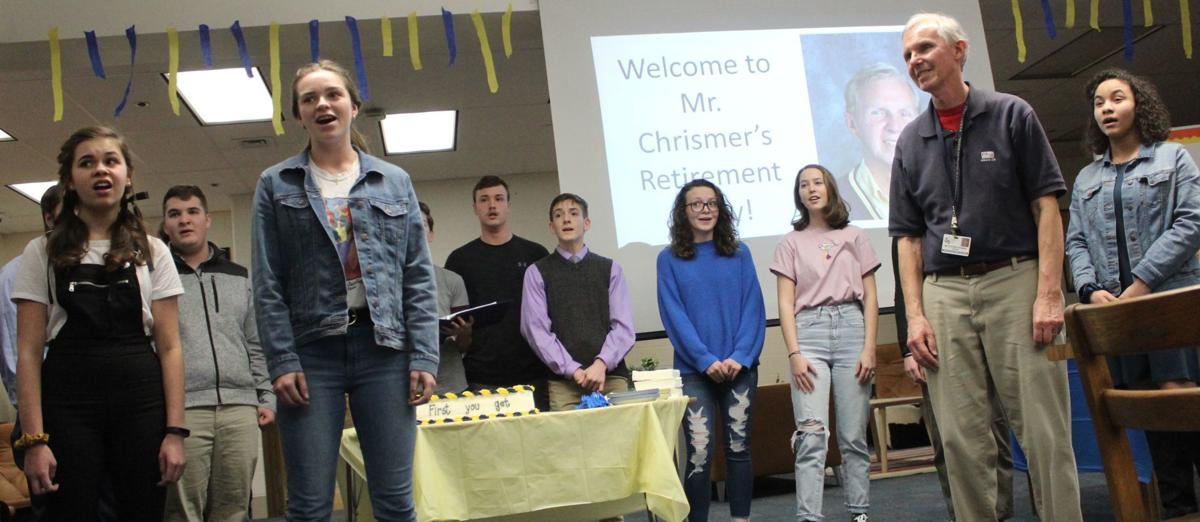 Chrismer retires after 43 years at Perryville High School