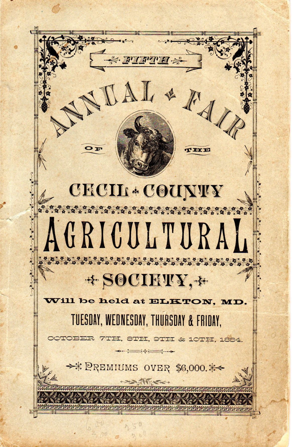 COVER Cecil County Fair history