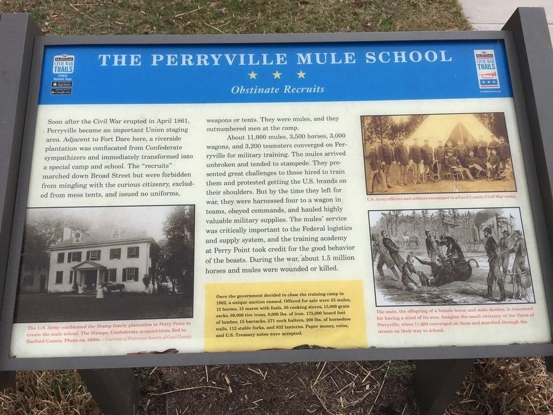 Perryville sign